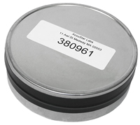4 inch radon test canister